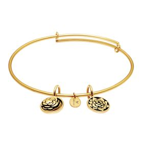 'Roses' Expandable Bangle Bracelet