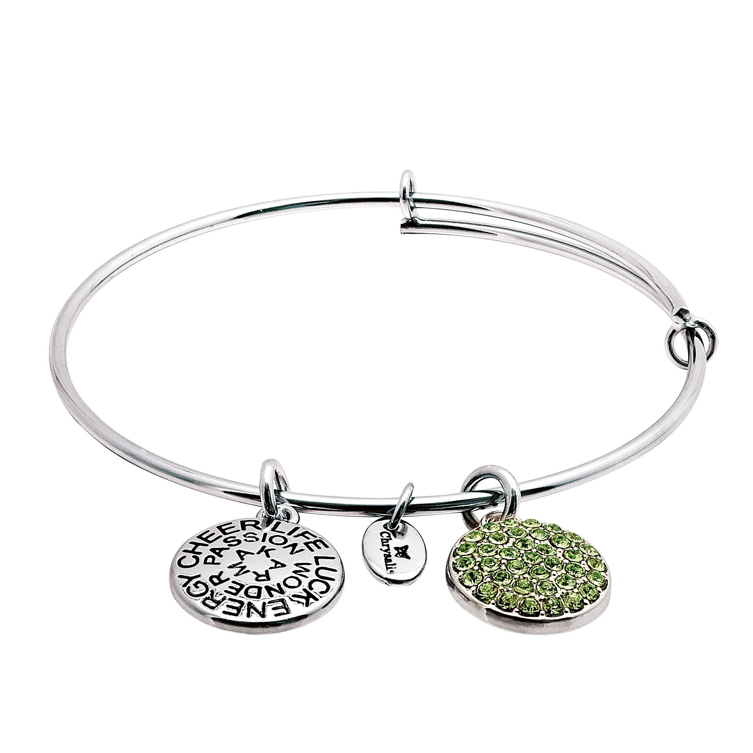 Good Karma Love Heart Bangle Bracelet Free Fast P/&P Great Gift