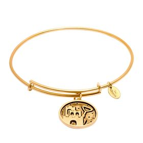 Castle & Shovel Expandable Bangle Bracelet