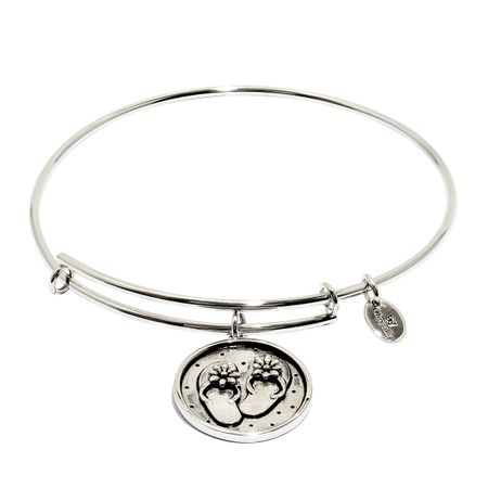 Flip-Flop Expandable Bangle Bracelet