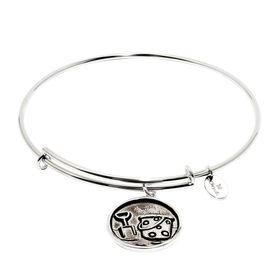 Bucket & Shovel Expandable Bangle Bracelet