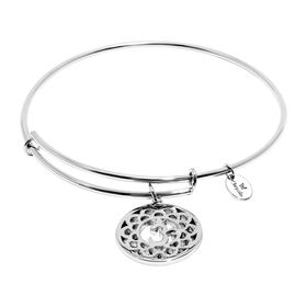 'Crown' Expandable Bangle Bracelet