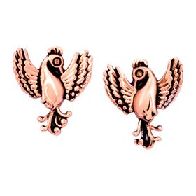 'Phoenix' Stud Earrings, Rose