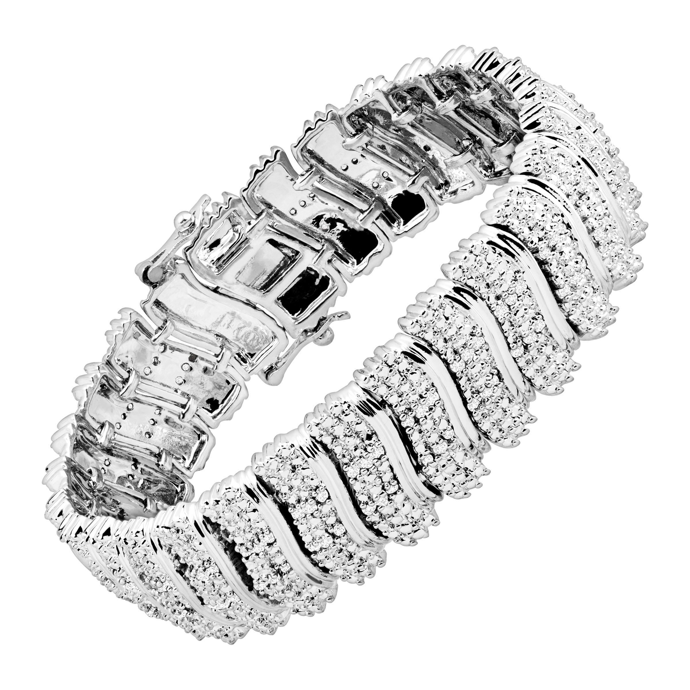 2-ct-039-S-039-Link-Tennis-Bracelet-in-Rhodium-Plated-Brass