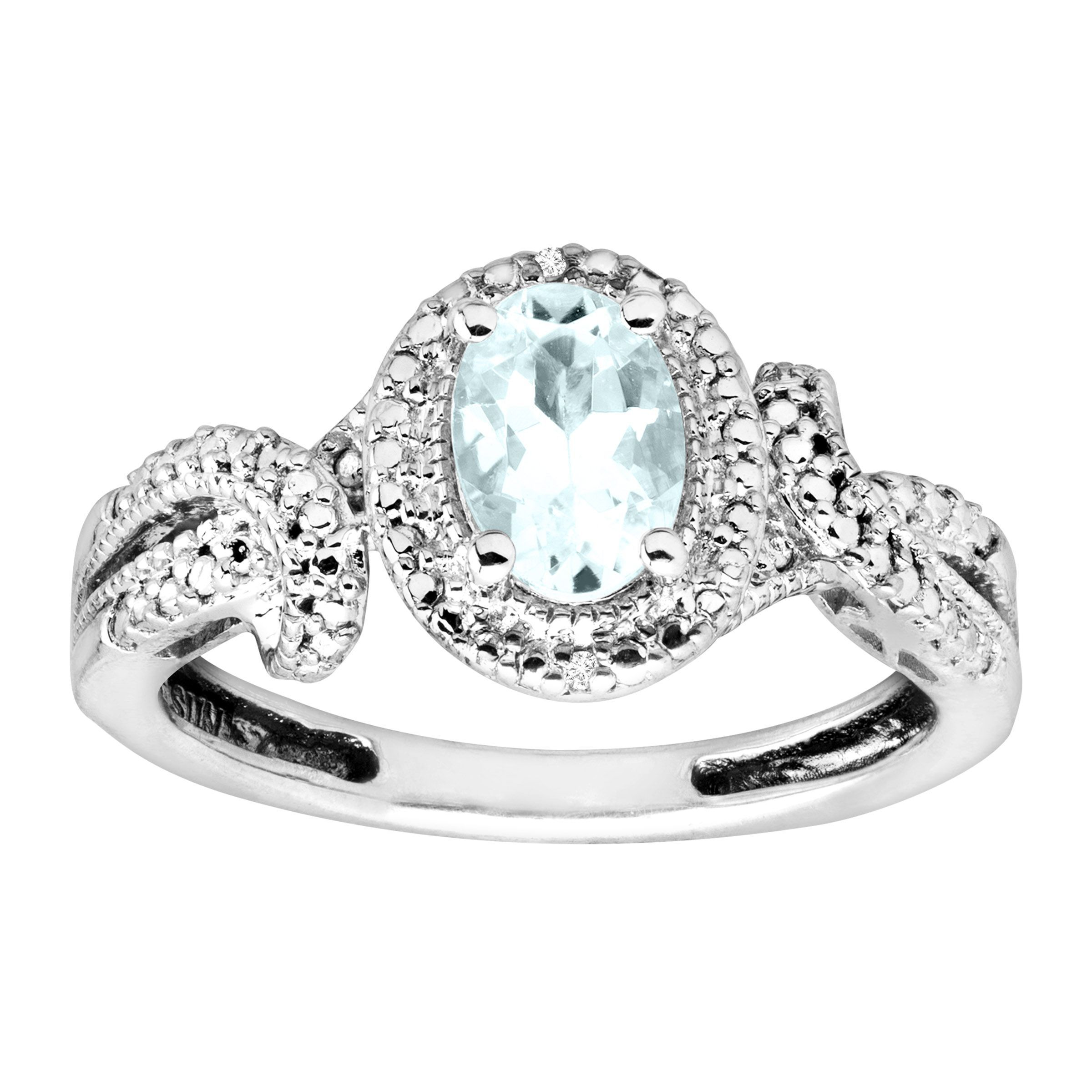 poletti product image aquamarine ring jewellery of pale