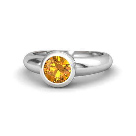 product nadine rings citrine ring category categories troika jardin ct silver