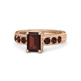 Details about  /Red Garnet Gemstone Jewelry 14k Rose Gold RingA Precious Gift for Her