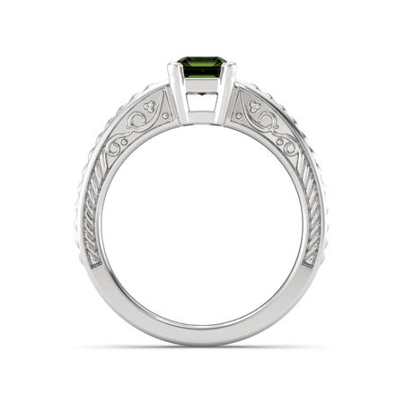 Emerald-Cut Ceres Ring