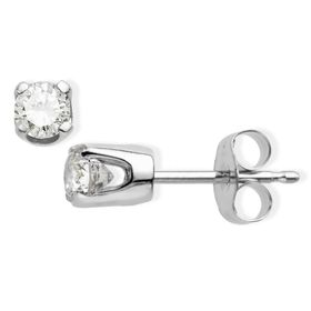 1/2 ct Diamond Earrings