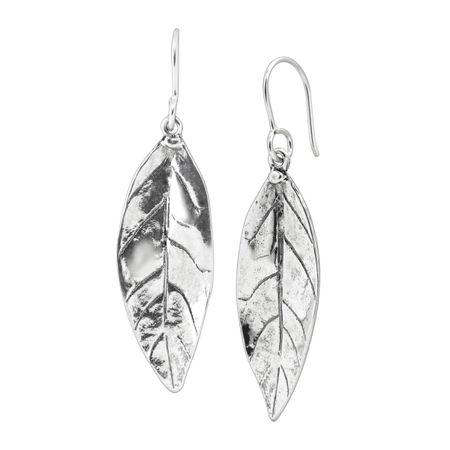5edb76ffda5753 Silpada 'Leaf 'Em Hanging' Leaf Drop Earrings in Sterling Silver ...