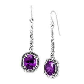 Aubergine Dreams Earrings