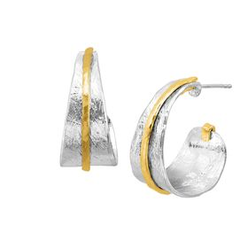 Sunpath Hoop Earrings