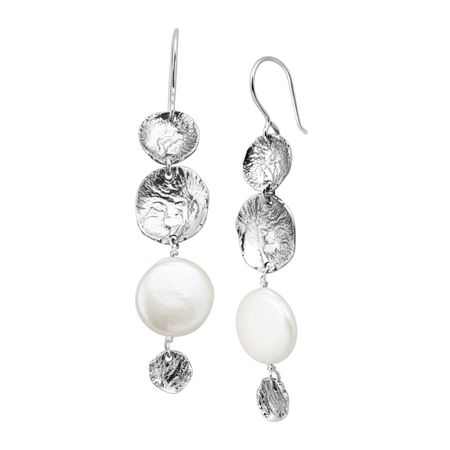 4fccf727becec Silpada 'Pier Pressure' 15 mm Freshwater Pearl Drop Earrings in Sterling  Silver