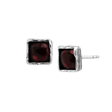 Boysenberry Stud Earrings