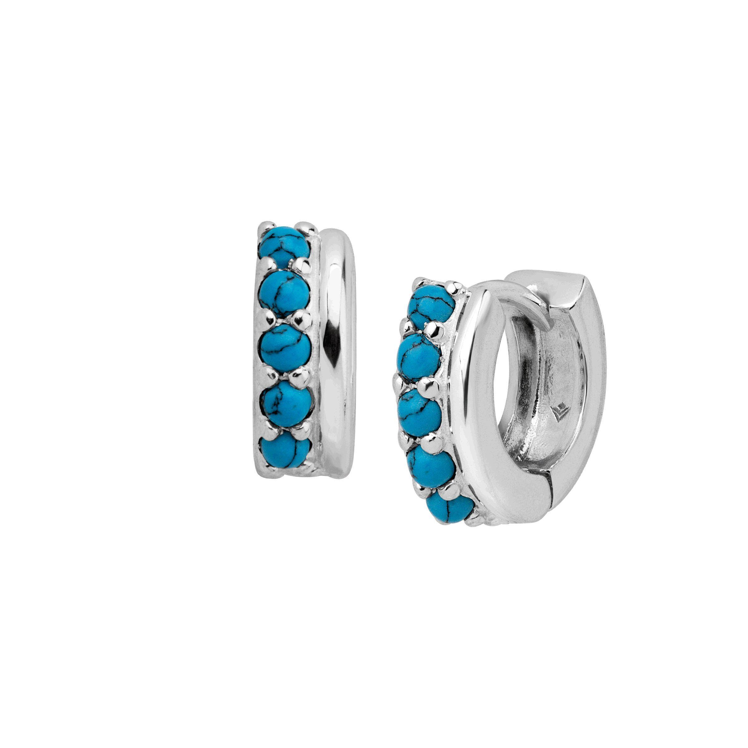 c887413a4 Silpada 'Soleil' Twisted Huggie Hoop Earrings in Sterling Silver ...