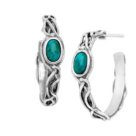 Swiftcurrent Hoop Earrings