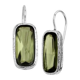 Olivine Drop Earrings