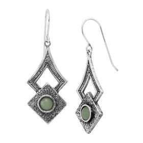 Aventurine Adventure Earrings