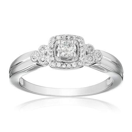 1/4 ct Diamond Engagement Ring