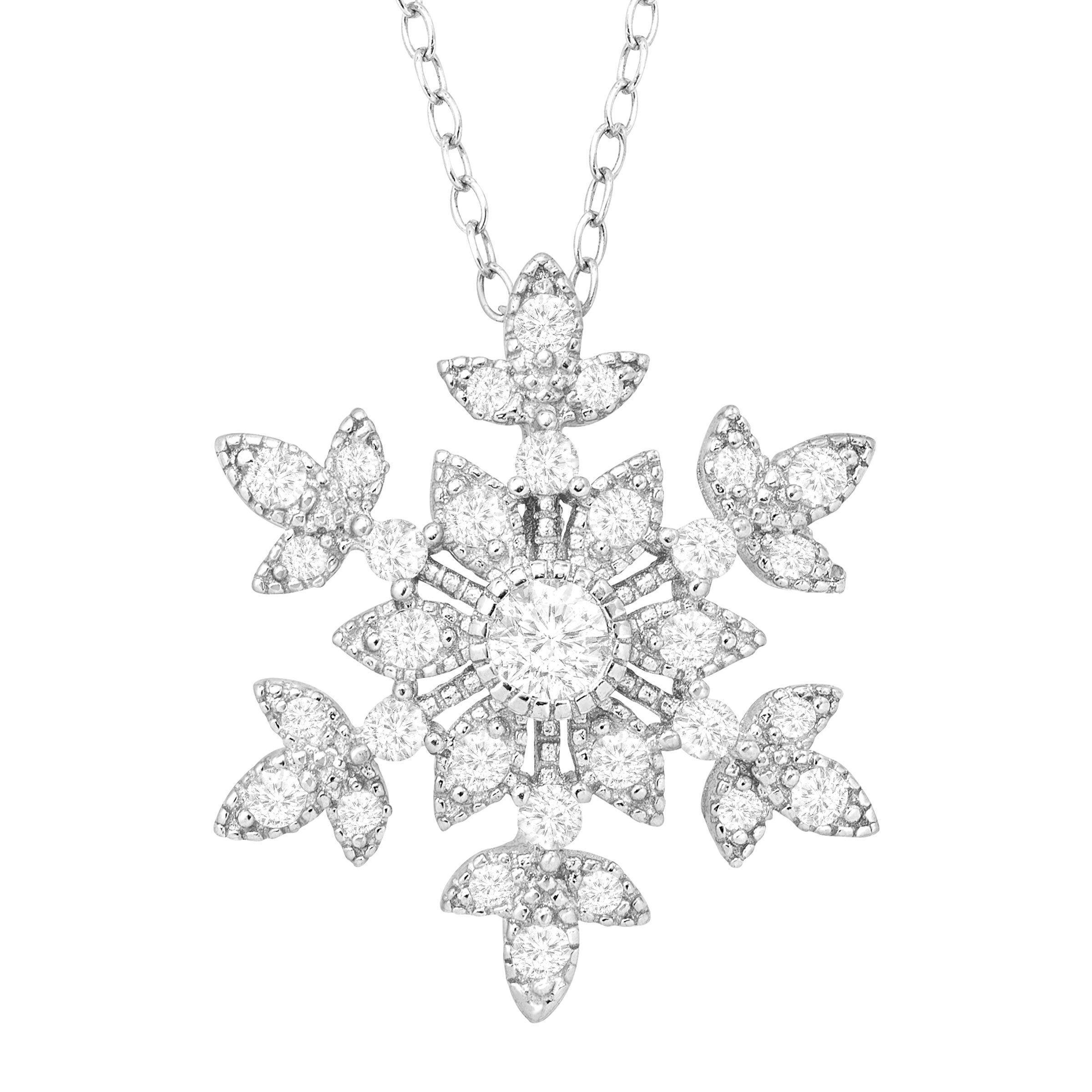 zoom zm jar snowflake hover gold jaredstore pendant diamonds to tw white en necklace jared mv ct