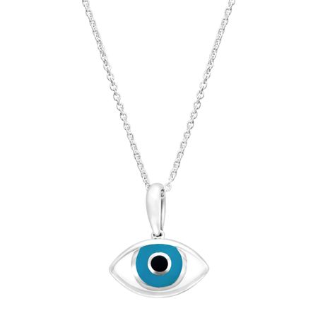 Kabana medium mati mother of pearl evil eye pendant in sterling medium mother of pearl evil eye pendant aloadofball Images