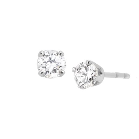 1/5 ct Diamond Stud Earrings