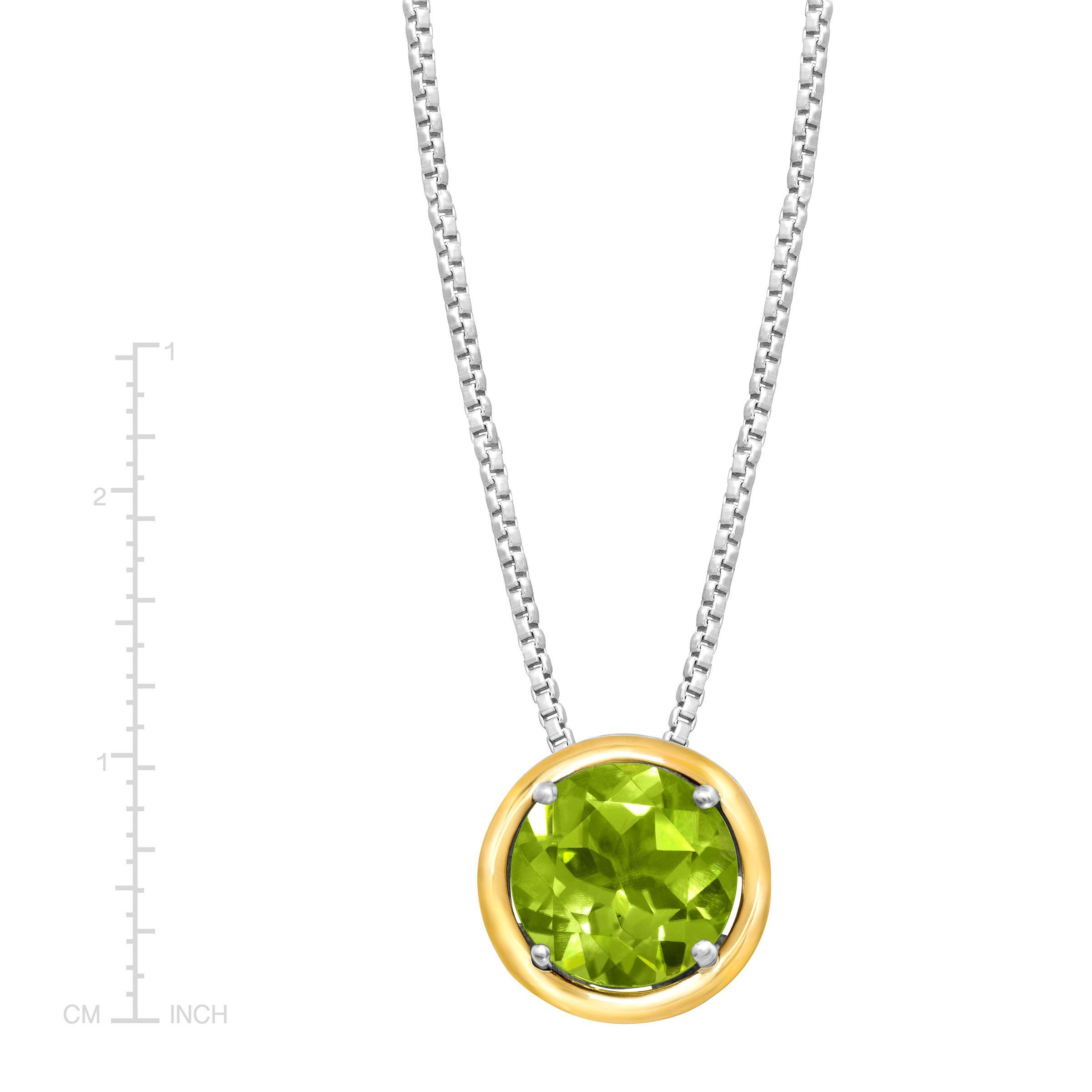 2 ct natural peridot pendant in sterling silver 14k gold 2 ct natural peridot pendant in sterling silver 14k gold aloadofball Gallery