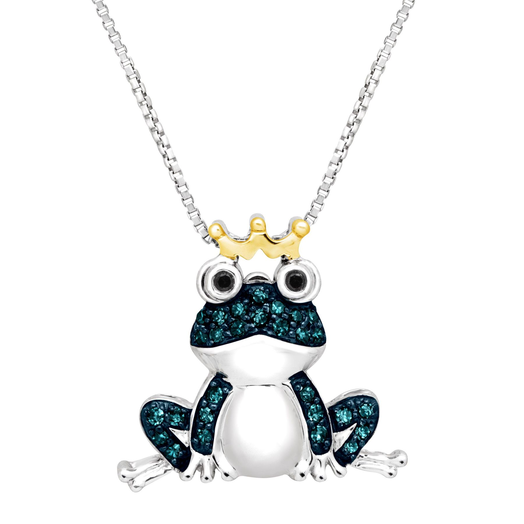 c jewelry k pendant gold com white amazon dp frog