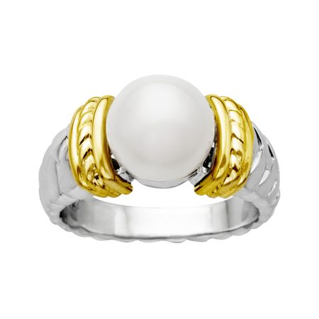 9.5 mm Pearl Ring
