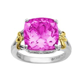 9 1/2 ct Pink Sapphire Ring