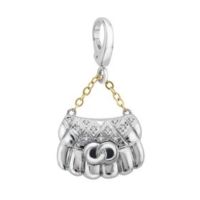 Purse Charm with Diamonds