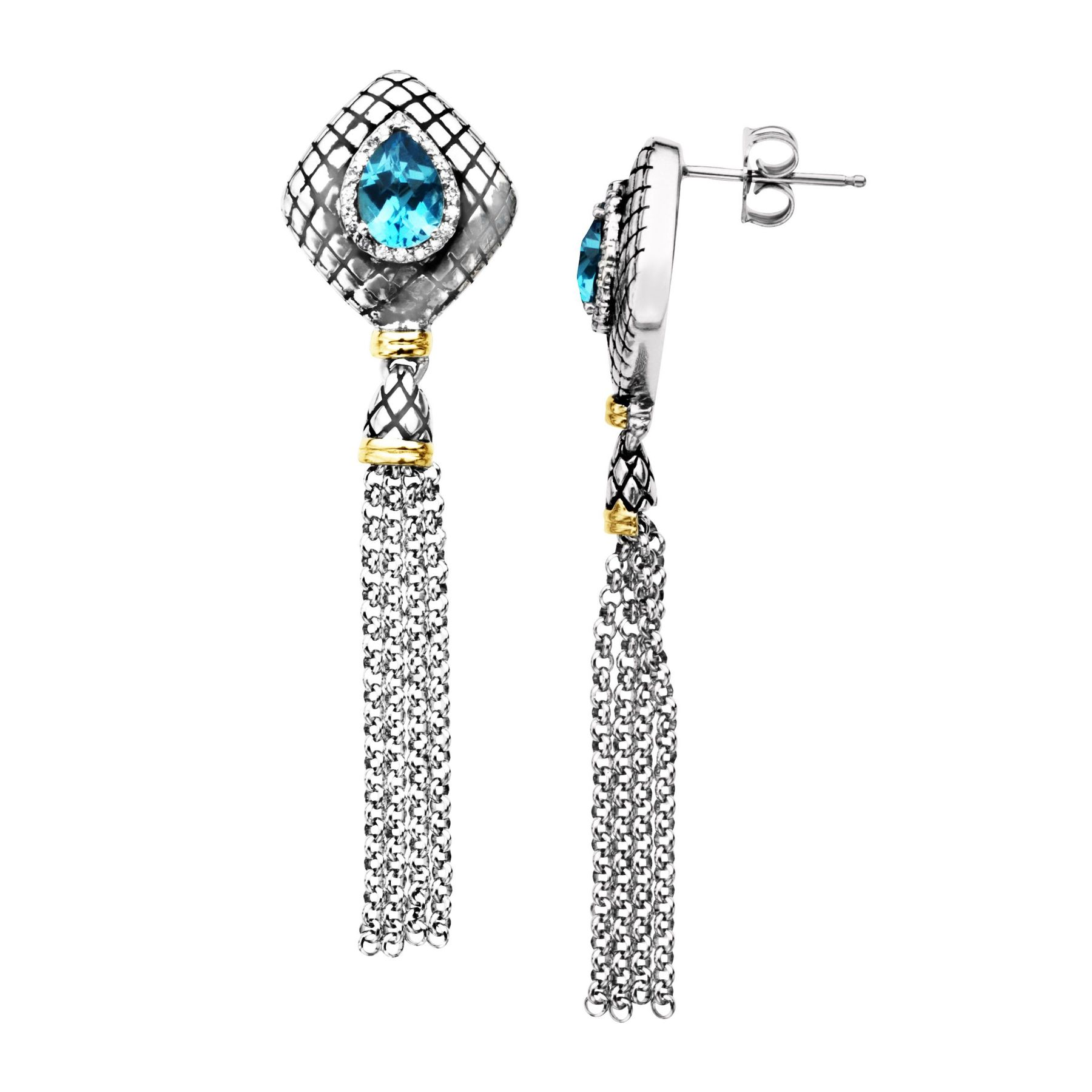 view london and l silver blue sterling earring topaz dia gold yellow stud earrings larger