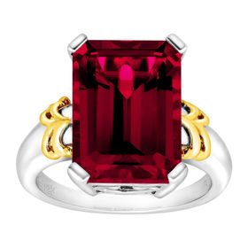 10 ct Ruby Cocktail Ring