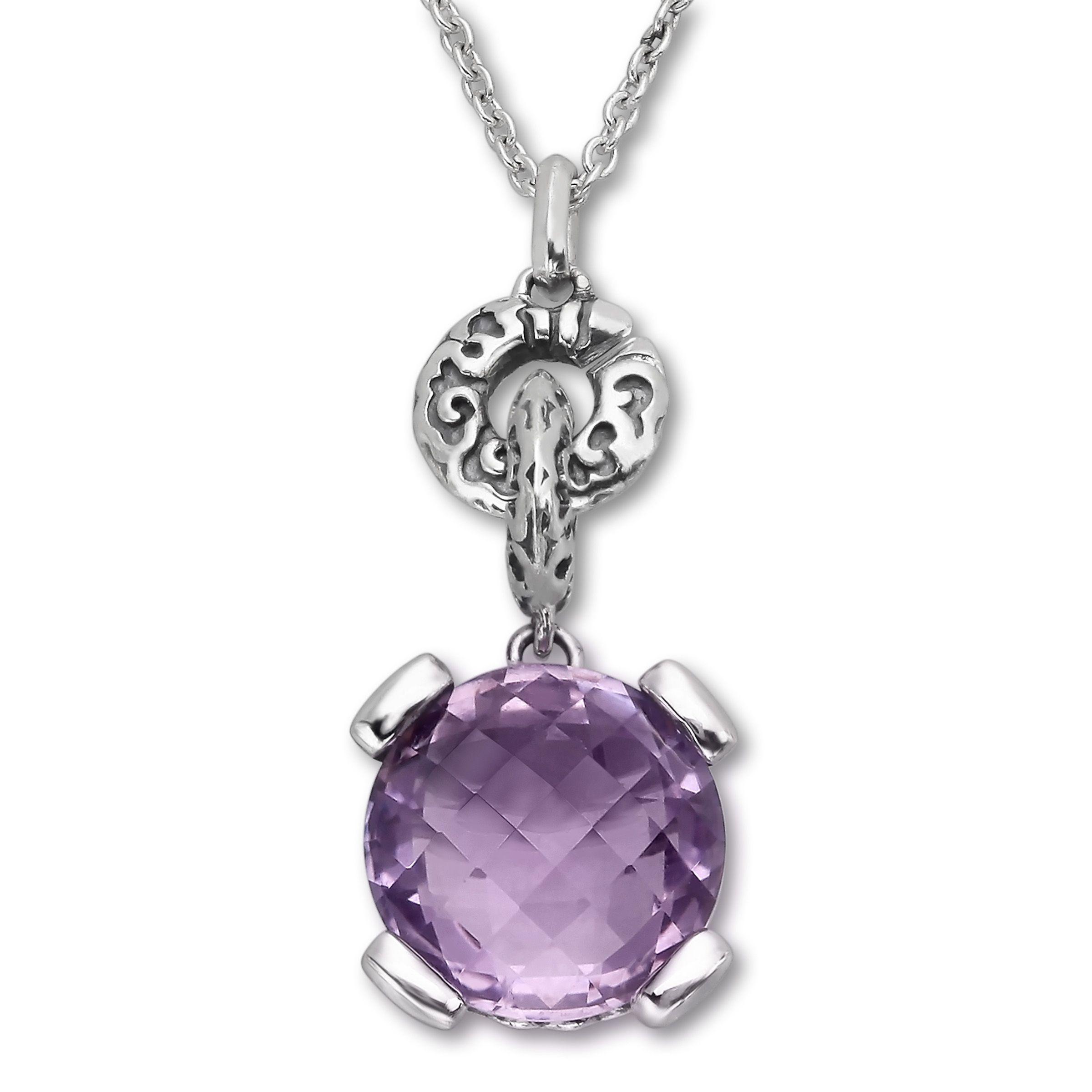 Evert degraeve 6 14 ct amethyst pendant in sterling silver evert degraeve 6 14 ct amethyst pendant in sterling silver aloadofball Images