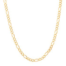 Figaro Chain Link Necklace