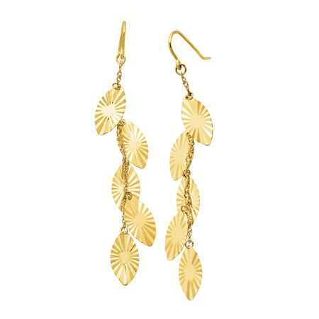 cascade metallic shourouk in earrings jewelry lyst