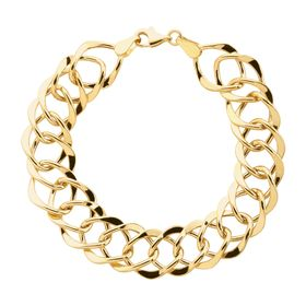 Interlocking Link Chain Bracelet