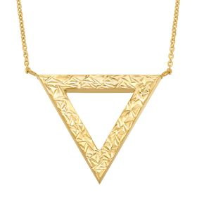 Reversible Triangle Necklace