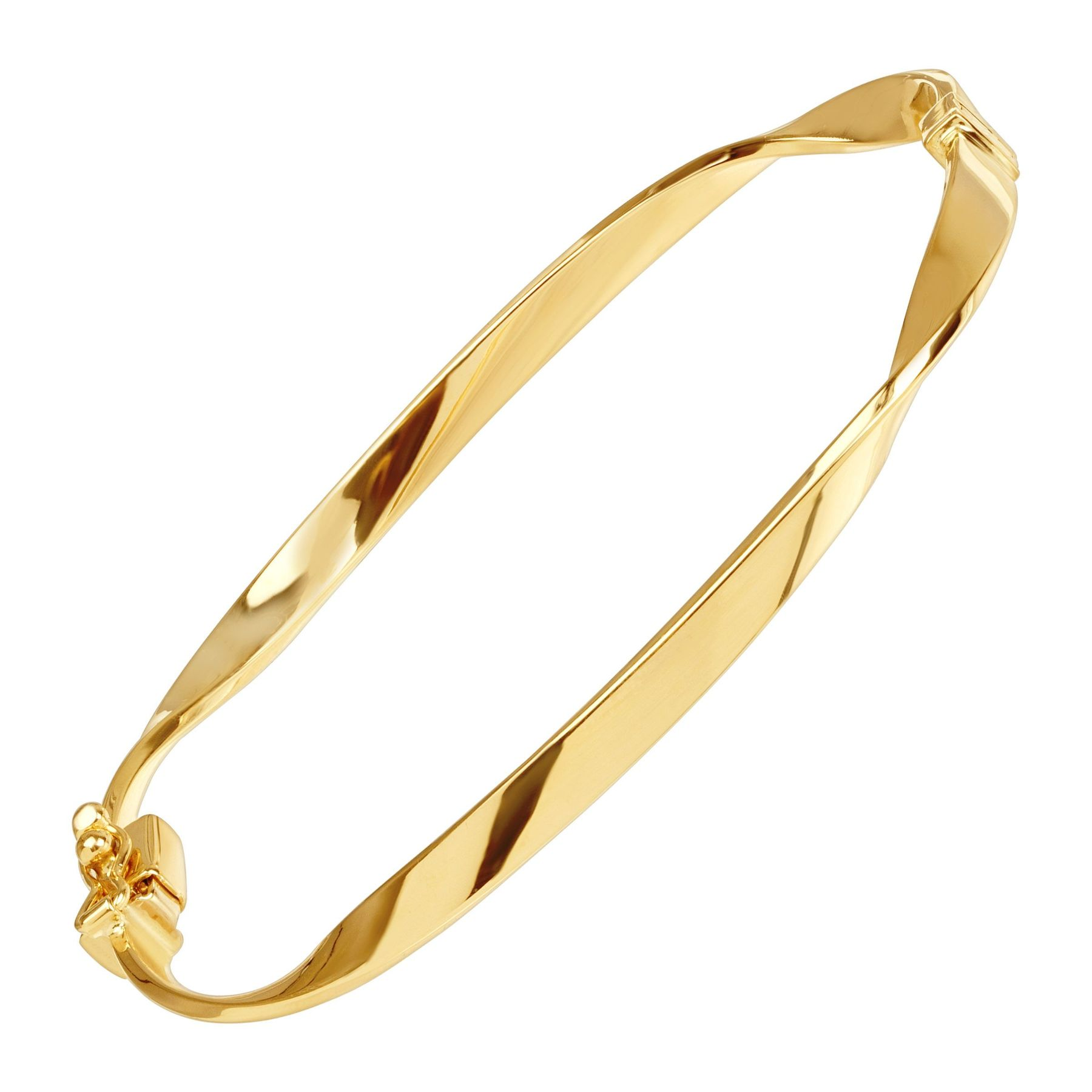 bangle with diamond clasp ct products gold bangles part three type bracelet tw and