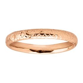 Honeycomb Band Ring, Pink