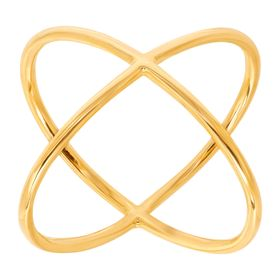 Criss Cross 'X' Ring