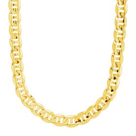 Men's Wide Mariner Chain Necklace
