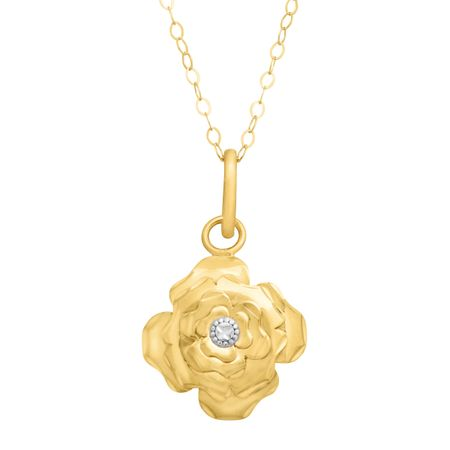 gold girlfriend rose cz sterling or wife silver gift media necklace y valentine pendant lariat