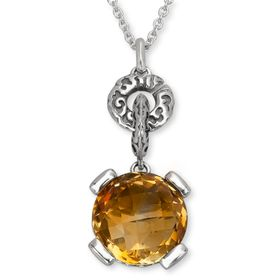 6 ct Citrine Pendant