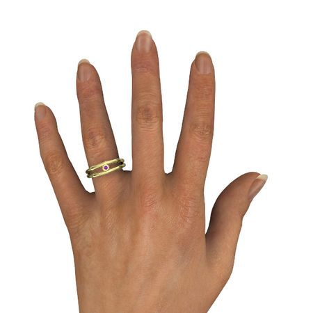 Split Bamboo Ring
