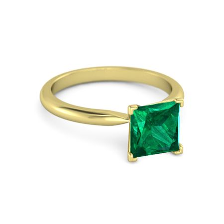 Princess-Cut Ara Ring (7mm gem)