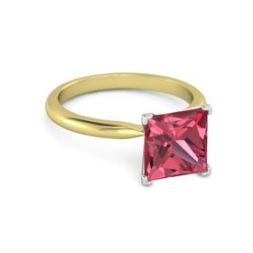 Princess-Cut Ara Ring (8mm gem)