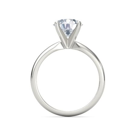Round-Cut Ara Ring (8mm gem)