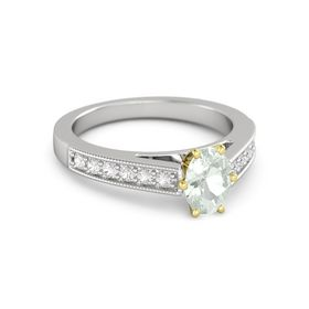 Oval-Cut Flora Ring (7mm gem)