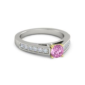 Round-Cut Flora Ring (5mm gem)